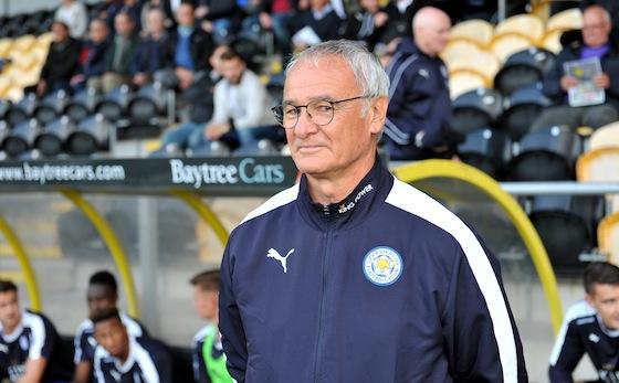 PICTURE ALEX HANNAM - Burton Albion v Leicester City - Claudio Ranieri - STORY
